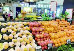 安徽宿迁:水果价格继续回落 ()