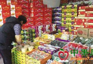 春节水果货量足 价格不升反降 ()